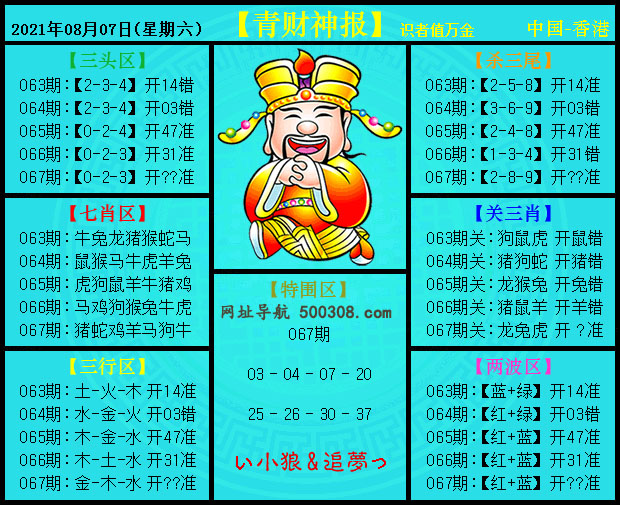 067期:青财神报