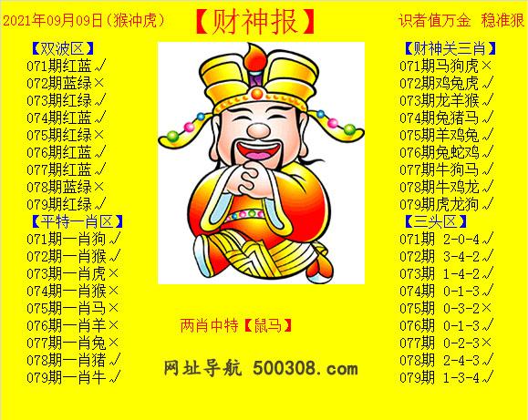079期:黄财神报
