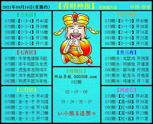 082期:青财神报