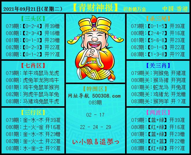 083期:青财神报
