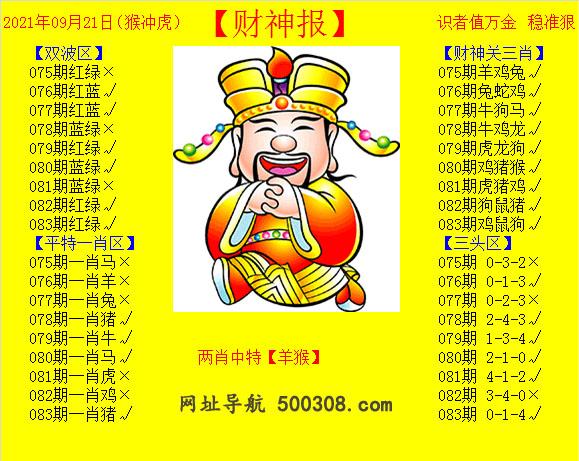 083期:黄财神报