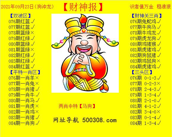 084期:黄财神报