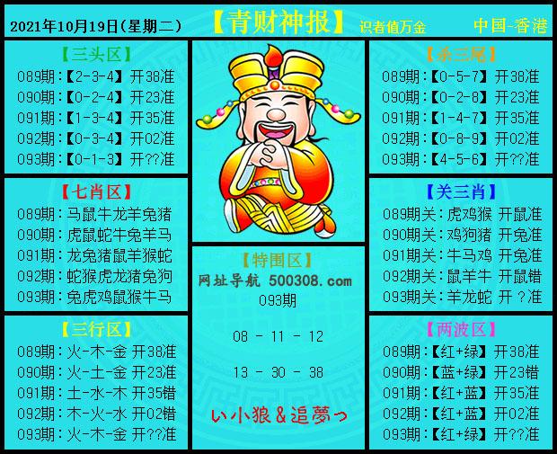 093期:青财神报