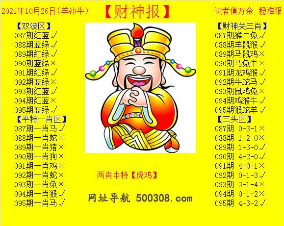 095期:黄财神报